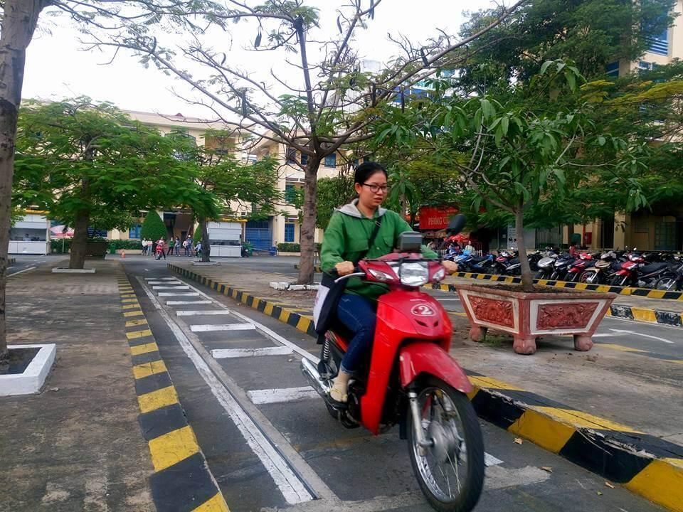 Cách thi bằng lái xe máy đỗ 100% 1