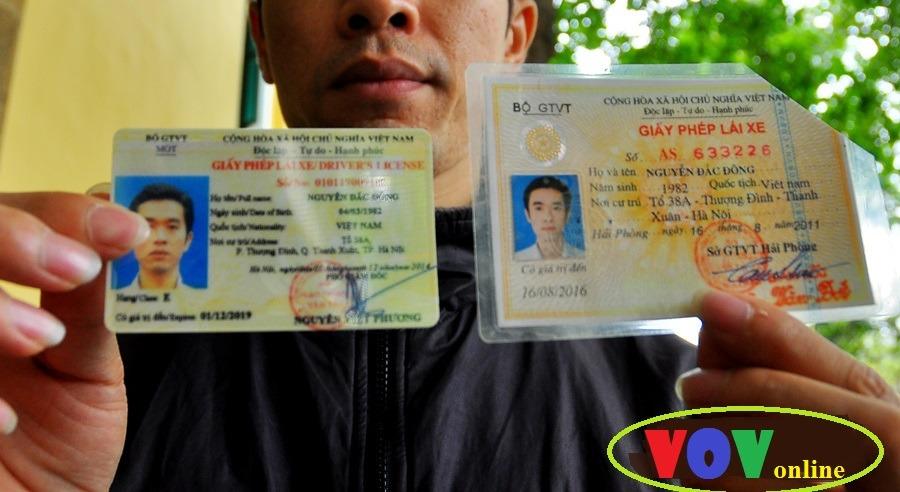 Đơn giản hóa nhu cầu làm lại bằng lái xe máy tại Hà Nội