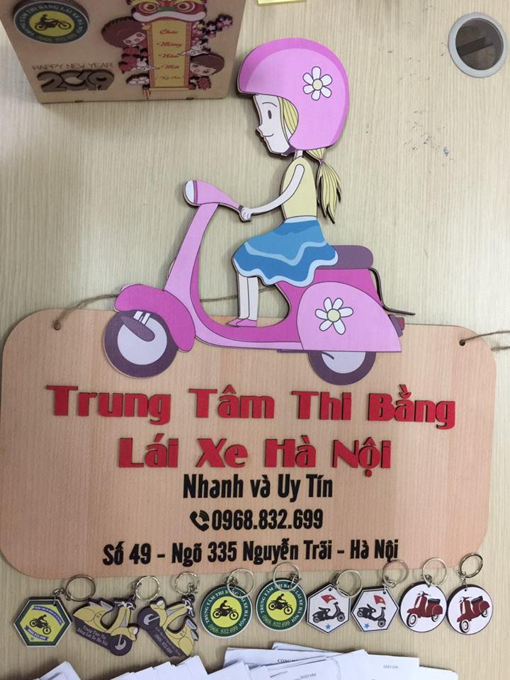 Thi bằng lái xe máy tại Hà Nội