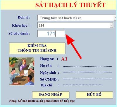 thi bằng lái xe máy quận Thanh Trì